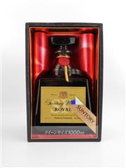 Sale 8498 - Lot 1708 - 1x Suntory Whisky Royal Blended Japanese Whisky - 1000ml, in box (SRQ01)
