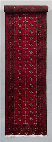 Sale 8493C - Lot 100 - Afghan Turkman 400cm x 80cm
