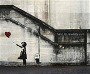 Sale 8696A - Lot 5068 - Banksy (1974 - ) - Girl with Balloon 51 x 60cm