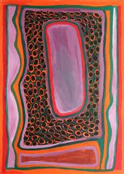 Sale 8786 - Lot 544 - Jukuja Dolly Snell (1933 - 2015) - My Country 149 x 100cm (stretched and ready to hang)