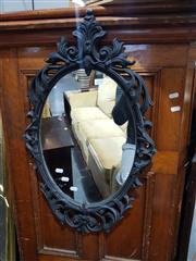 Sale 8826 - Lot 1070 - Oval Mirror