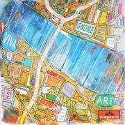 Sale 9042A - Lot 5071 - Nils Slotz - Cover Series 110 x 110 cm