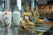 Sale 8308 - Lot 36 - Yung Lo (1403—1424) Marked Gilt Bronze Varada-Mudra Tara Figure
