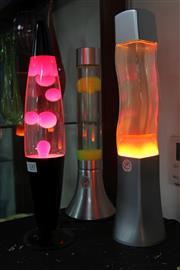 Sale 8304 - Lot 100 - Lava Lamps (3)