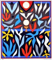 Sale 8657E - Lot 5007 - John Coburn (1925 - 2006) - Hosanna 72 x 48cm (frame: 75 x 55cm)