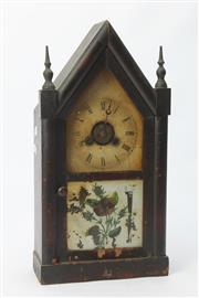 Sale 8667 - Lot 42 - Antique Mantle Clock (H:38cm)