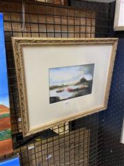 Sale 8927 - Lot 2040 - Robert Davidson - Harbour Scene