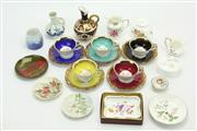 Sale 8405 - Lot 25 - Bavarian Tea Wares with Other Ceramics Incl Crown Derby Ewer