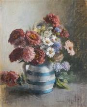 Sale 8492 - Lot 557 - Janet Cumbrae-Stewart (1883 - 1960) - Still Life 45 x 37cm