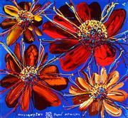 Sale 8959A - Lot 5004 - Constantine Popov (1965 - ) - Sunflowers 64 x 69 cm (frame: 83 x 88 x 5 cm)