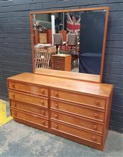 Sale 9039 - Lot 1023 - Parker Mirrored Back Sideboard