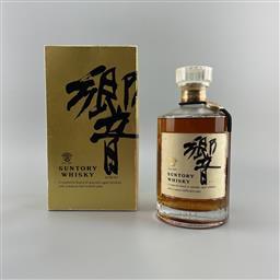 Sale 9165 - Lot 625 - Suntory Whisky Hibiki Blended Japanese Whisky - old bottling, 700ml in box