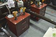 Sale 8392 - Lot 1076 - Pair of Two Drawer Bedsides