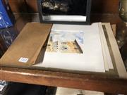 Sale 8789 - Lot 2311 - 4 Italian Themed Works: Firenze, watercolour; Siena I, Siena II & Canals Prints
