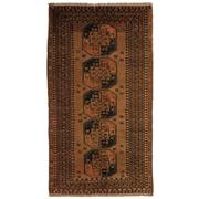 Sale 8810C - Lot 22 - An Afghan Vintage Turkoman In Handspun Wool, 120 x 215cm