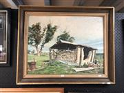 Sale 8856 - Lot 2087 - Crogson - Shed, Oil, SLR