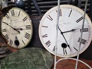 Sale 8925 - Lot 1050 - Two wall clocks with French detail