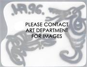 Sale 8958A - Lot 5030 - Howard Arkley (1951 - 1999) - Untitled (Snake & Horse), 1996 29.5 x 39.5cm (frame: 43 x 53 x 4 cm)
