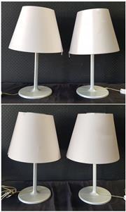 Sale 9056 - Lot 1021 - Collection of Four Artemide Table Lamps (h:59cm)