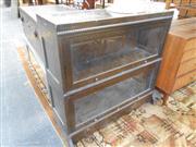 Sale 7943A - Lot 1508 - Beard Watson 2 Tier Legal Bookcase