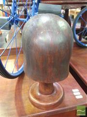 Sale 8412 - Lot 1024 - Vintage Timber Hat Block
