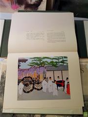 Sale 8659 - Lot 2038 - Portfolio of Japanese Decorative Prints