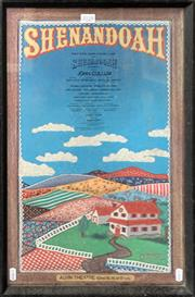 Sale 8668 - Lot 2028 - SHENNADOAH Musical Theatre Poster, 58 x 37.5cm (frame size)