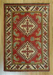 Sale 8693C - Lot 93 - Afghan Kazak 120cm x 80cm