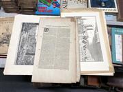 Sale 8789 - Lot 2153 - Folio of Maps & Prints incl Nurnberg, Munchen etc