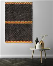 Sale 8808 - Lot 542 - Alison Puruntatameri (1984 - ) - Jilamara Design 120 x 80cm