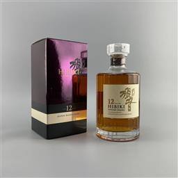 Sale 9165 - Lot 627 - Suntory Whisky Hibiki 12YO Blended Japanese Whisky - 43% ABV, 700ml in box