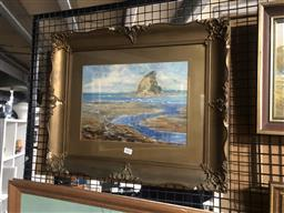 Sale 9155 - Lot 2041 - J M ANSELL - Waiwera New Zealand 24.5 x 34 cm (frame: 47 x 56 x 4 cm)