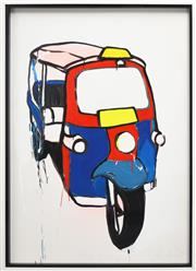 Sale 8301A - Lot 73 - Jasper Knight (1978 - ) - Tuk-Tuk 3, 2010 118 x 79cm