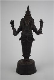 Sale 8381 - Lot 105 - Bronze Ganesha Statue H-36cm