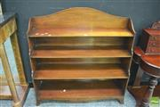 Sale 8392 - Lot 1010 - Waterfall Front Bookcase