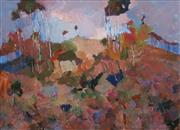 Sale 8613 - Lot 2062 - Norma Gibson - Sunlit Hills of Glenorie Near Dural 43.5 x 59.5cm