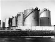 Sale 8721A - Lot 19 - Vic Sumner - Large Petrol Tanks, 1976 (Caltex-Ampol Terminal, Banksmeadow) 20 x 25cm