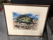 Sale 8856 - Lot 2096 - K Ballard - Bluff, Watercolour SLR