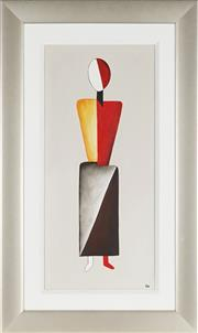 Sale 8901A - Lot 5084 - Artist Unknown (C.W) - Abstract Figure 77 x 34.5 cm