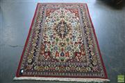 Sale 8341 - Lot 1093 - Persian Kashan (200 x 125cm)