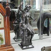 Sale 8379 - Lot 59 - Metal Figure of a Lady