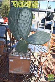 Sale 8390 - Lot 1343 - Cactus in Terracotta Planter