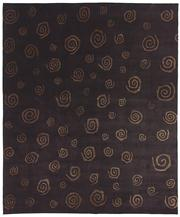 Sale 8536A - Lot 4 - A Tibetan Wool & Chinese Silk  Swirl Carpet Nepal 300cm x 250cm RRP $4,500.00