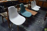 Sale 8550 - Lot 1020 - Set of Four Eames Vitra Chairs