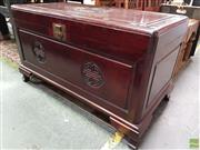 Sale 8580 - Lot 1083 - Camphorwood Chest