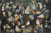 Sale 8696A - Lot 5002 - Bruno Leti (1941 - ) - Boonka, 1989 64.5 x 101cm (frame: 98.5 x 129cm)