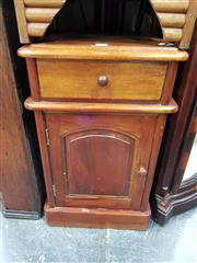 Sale 8700 - Lot 1041 - Mahogany Bedside Cabinet