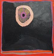 Sale 8786 - Lot 573 - Tjigila Nada Rawlins (c1936 - ) - Yimiri Waterhole 90 x 90cm (stretched and ready to hang)