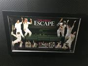 Sale 8828 - Lot 2057 - The Great Escape, Australian Cricket, Limited Edition 6 of 1000, framed