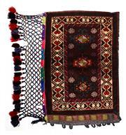 Sale 8402C - Lot 32 - Persian Pillow Cover 95cm x 85cm